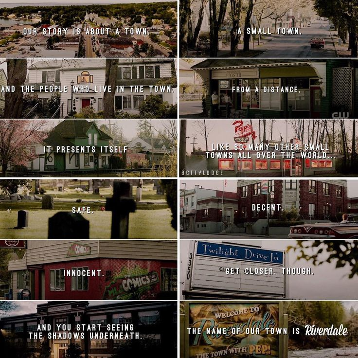 "#Riverdale 1x01 ""Chapter One: The River's Edge"""