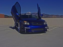 Ben Therrien competed in the 2010 #OUSCI in his 2006 Chevrolet Cobalt SS