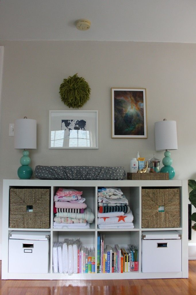 Cheap and easy idea for the changing table
