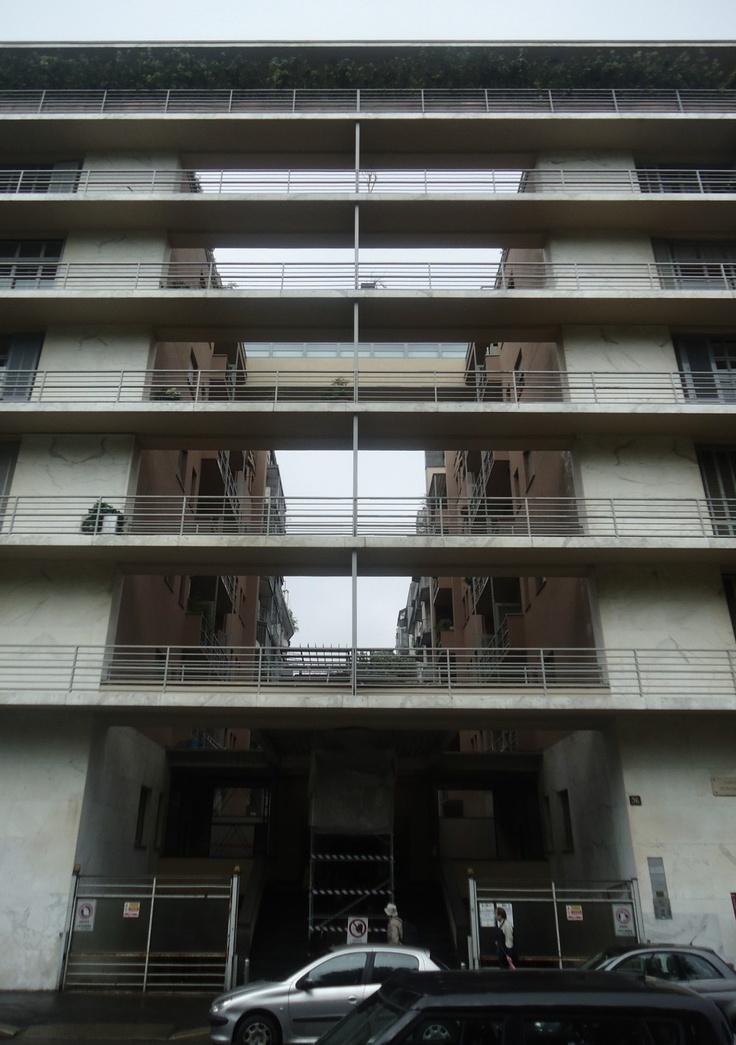 Casa Rustici / Milano, Italia (1933-1935) Giuseppe Terragni