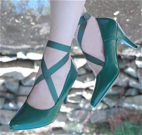 Sailor moon NEPTUNE Pumps by CatziasCollectibles on Etsy, $59.00