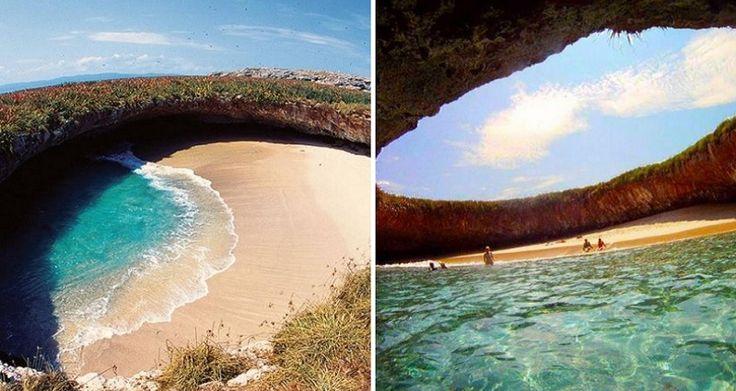 Hidden Beach In Marieta Islands