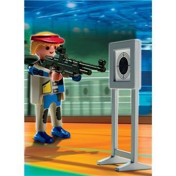 Boneco Olimpíadas Tiro ao Alvo Playmobil 684 - Sunny - OK
