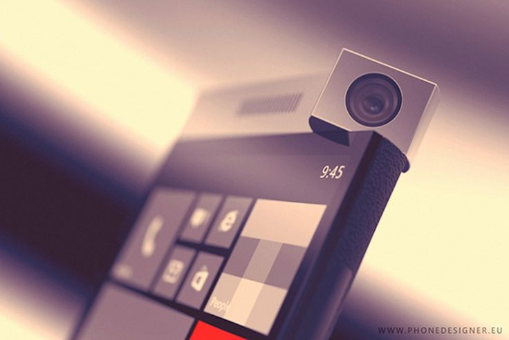 'Spinner Phone' Concept Features Rotating Camera