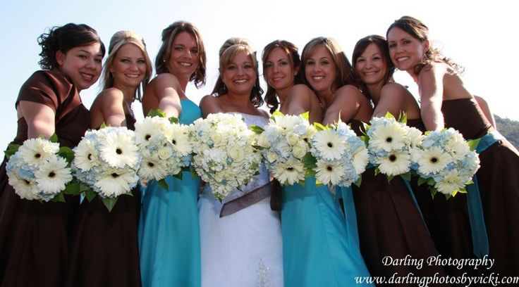 Blue Brown Wedding Bouquets : Best images about wedding flowers on sweet