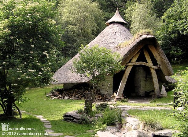 The Storytelling Roundhouse at Cae Mabon in Snowdonia, Wales