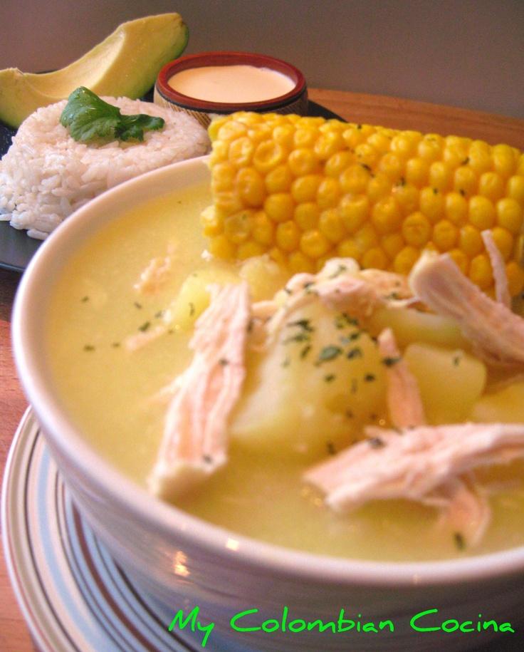 Ajiaco Bogotano Bogota's Soup..!  Cant wait to make this...