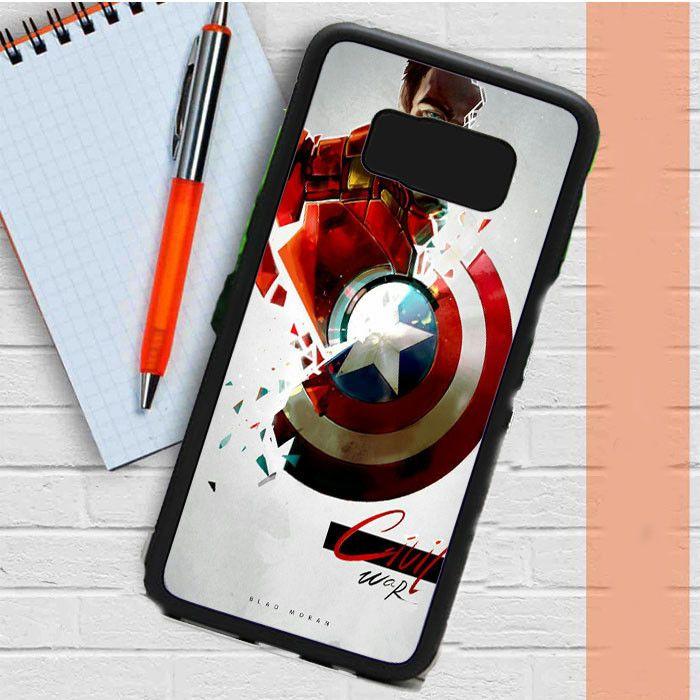 Civil War Blod Moran Samsung Galaxy S8 Case Dewantary