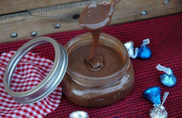 Homemade Hot Fudge Sauce Recipe :: HoosierHomemade.com