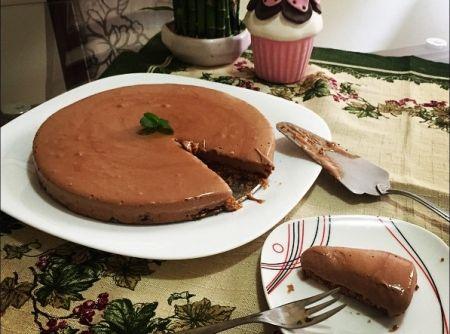 Delicinha!   #chocolate #pie #torta #receitas