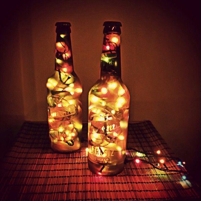 Lampbada 'nın birbirinden renkli şişe masa lambaları sorrpa.com'da.