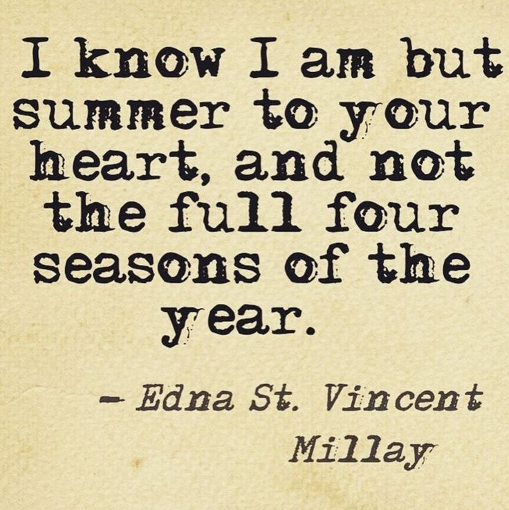 Edna St. Vincent Millay poetry