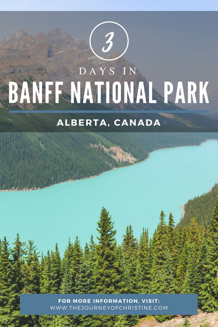 3 Days in Banff National Park | Alberta, Canada