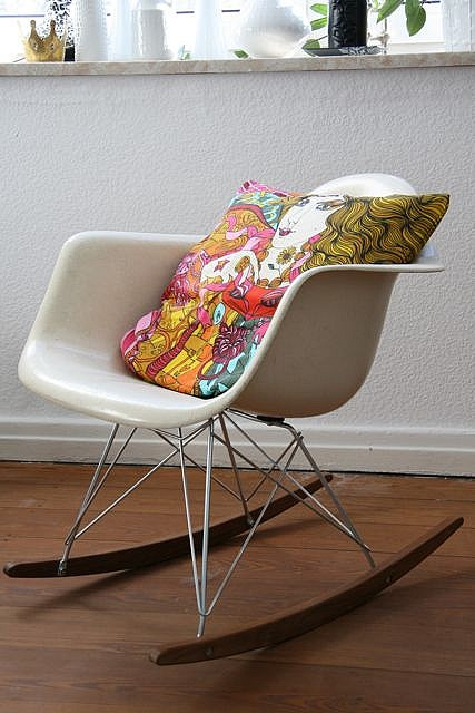 rock on! Eames rocking chair, Decor, Furniture