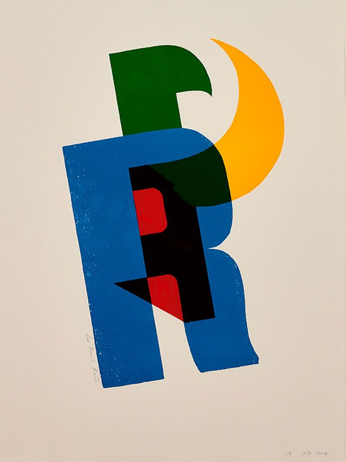 Paul Rand print by Alan Kitching | The Monotype Shop
