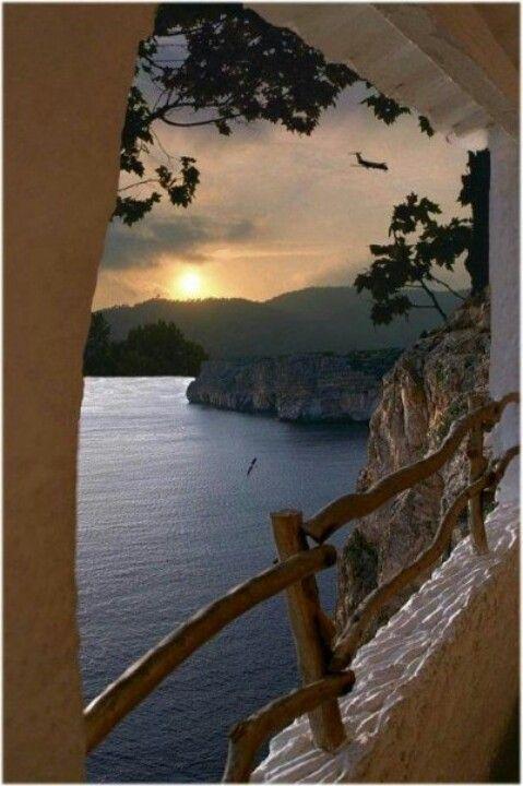 Cala'n Porter. Menorca. Islas Baleares. España.