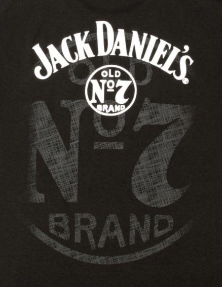 Wrangler Black Jack Daniel's Logo T-Shirt - Sheplers