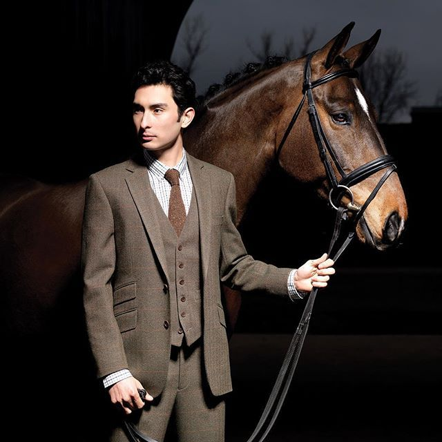 Olympic Equestrian Alex Hua Tian wearing a Bespoke Gieves & Hawkes three piece suit #GievesandHawkes #SavileRow #Tailoring #London #Rio2016 #Olympics