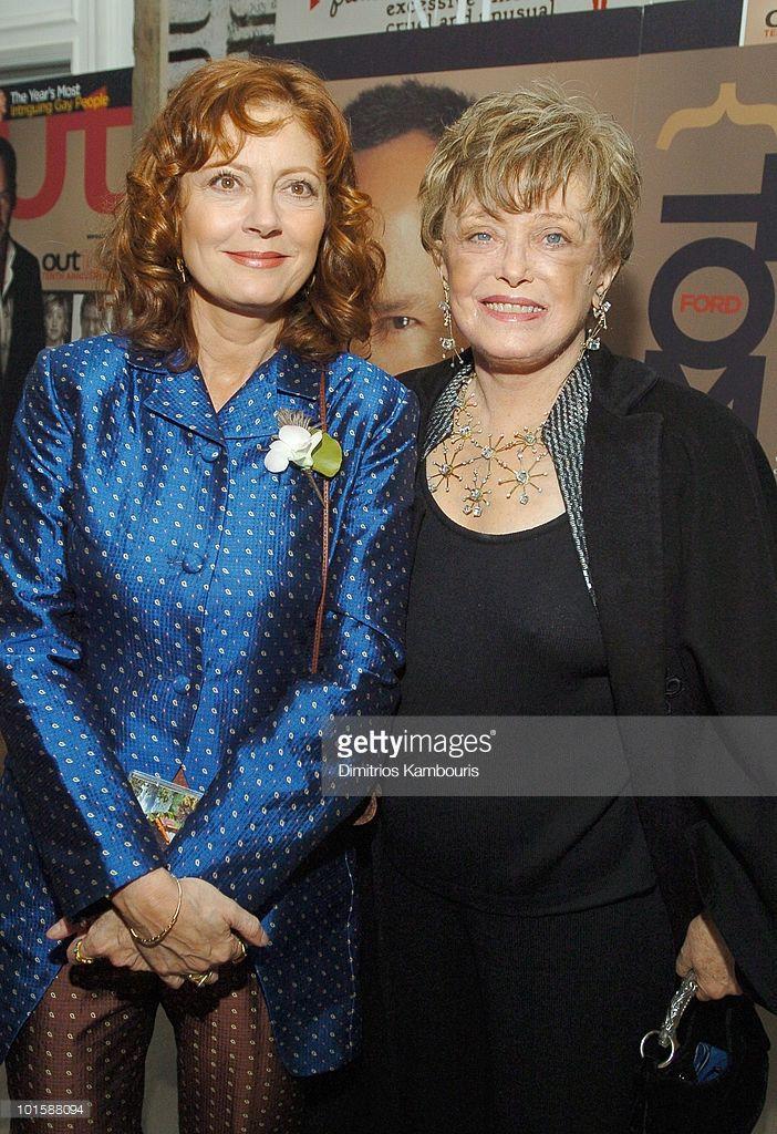 Susan Sarandon and Rue McClanahan