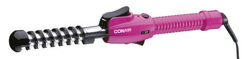 Conair You Curl Press by Conair. $22.99. Uniform heat recovery. Dual voltage. Auto Off. Heats up in 30 seconds. 3/4 inch spiral styler. Conair YOU Curl Press has revolutionized the everyday dilemma of getting those perfect spiral curls.  The Conair YOU Curl Press produces a better curl than the competition's, and sets a curvy, tangle-free spiral every time! The YOU Curl Press has 30-second instant heat and 25 different heat settings can help save you time and stress.