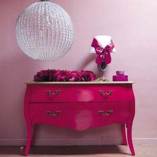 Comò rosa  Haute couture Maison du Monde