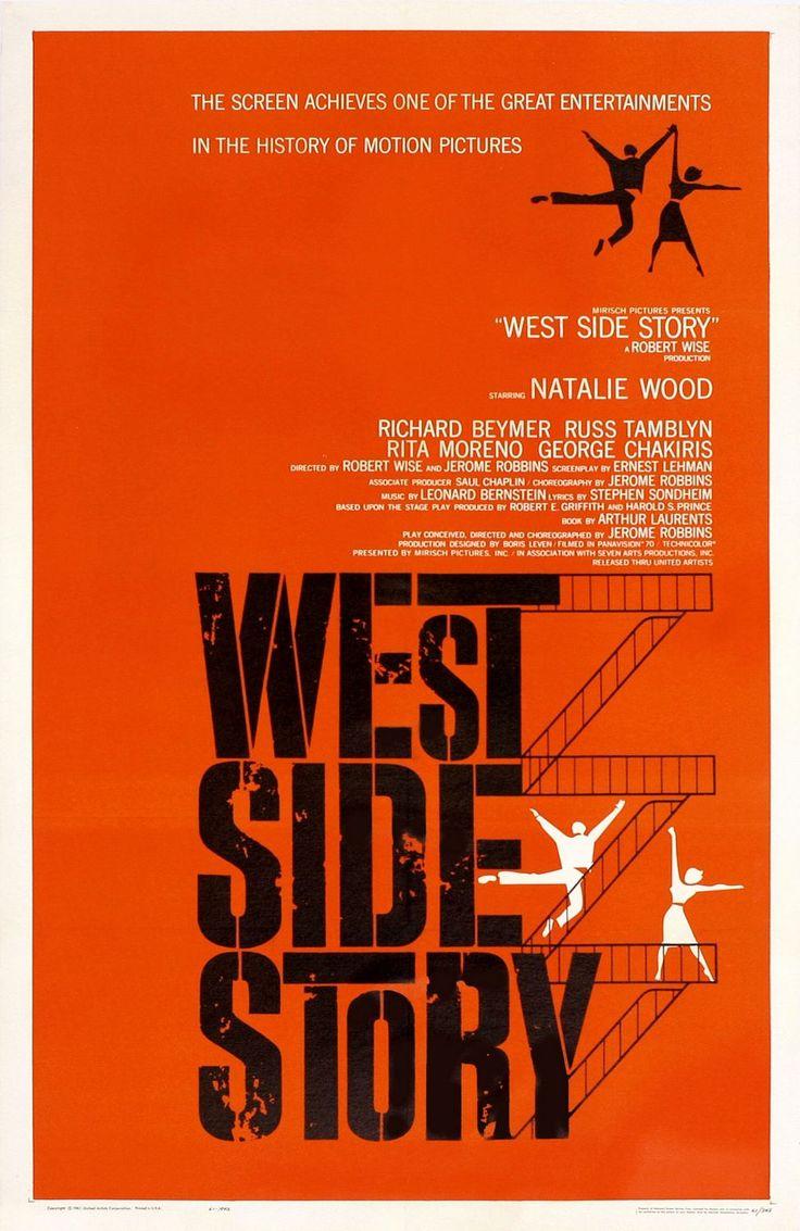 Return to the main poster page for West Side Story