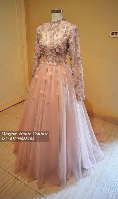 4e2eec4a2f868 فستان من تصميم اتيليه مريم للازياء الراقية .... بالاسكندرية