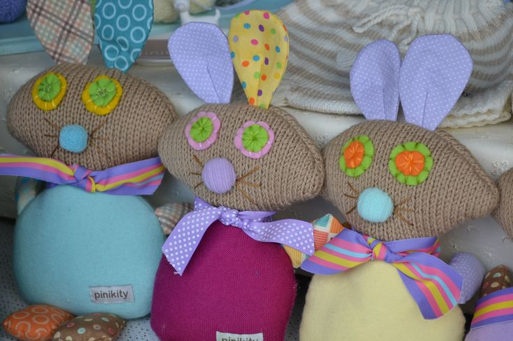 One of our talented stallholders. Handmade knitted toys.