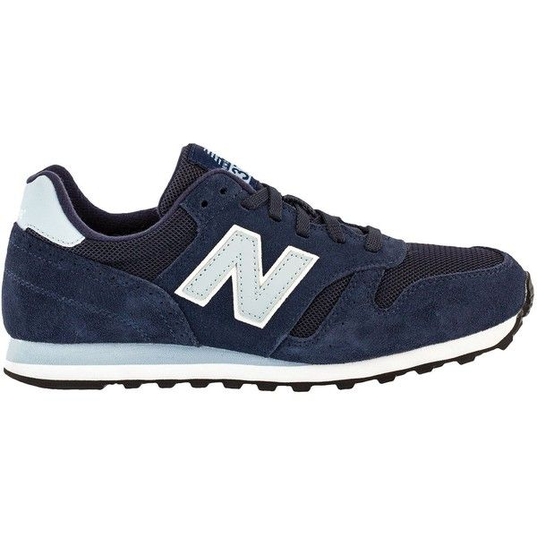 New Balance | New Balance 373 | Women's Lifestyle | W373SNB (68 NZD) ❤ liked on Polyvore featuring shoes, navy, navy blue shoes, navy shoes, new balance footwear, new balance and new balance shoes