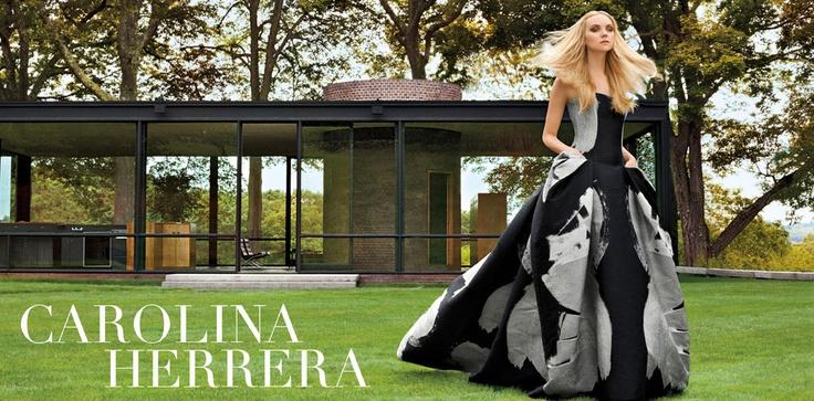 Highland Park has it All...From Haute Couture to Avant- Garde...the Fabulous Carolina Herrera!