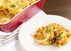Recipe for chicken nacho casserole