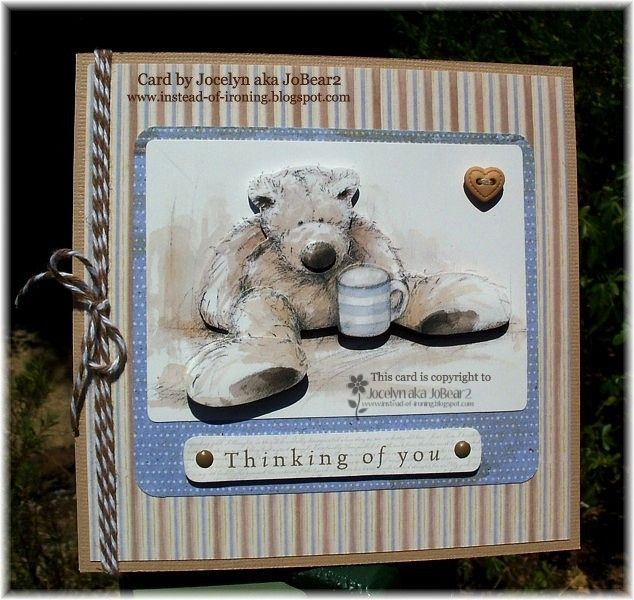 Wellington Bear's Get Well   http://instead-of-ironing.blogspot.c...well-card.html