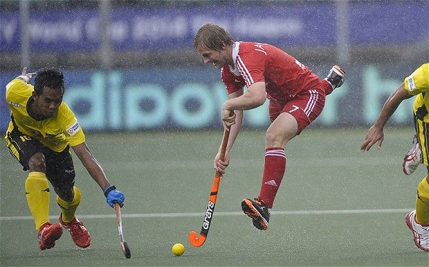 Hockey World Cup 2014: England march on as Ashley Jackson goes through pain barrier