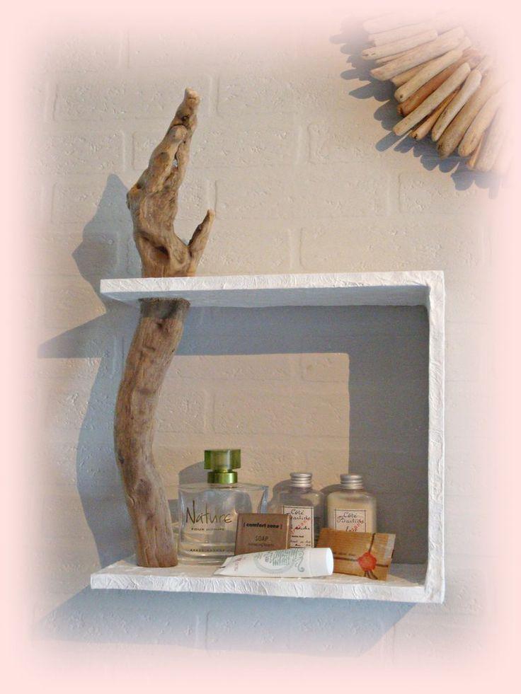 MENSOLA DA MURO con legno di mare, by Tendance Nature, 38,00 € su misshobby.com