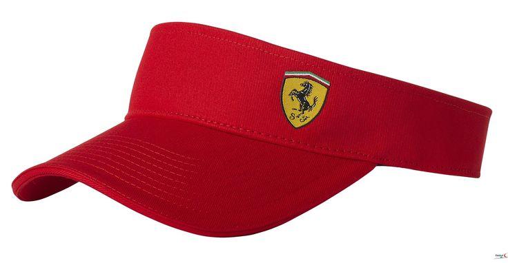 Daszek Ferrari Visor - Red   FERRARI ACCESSORIES   Fbutik   Scuderia Ferrari Collection