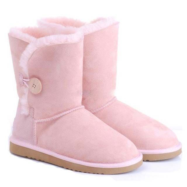 UGG Bailey Button Boots 5803 Pink Baby  $107.44