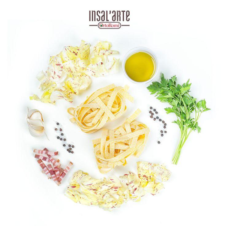 Un'altra ricetta! Stavolta il Radicchio di Castefranco finisce in padella con le tagliatelle! #radicchio #Castelfranco #recipe #cooking #foodphotography
