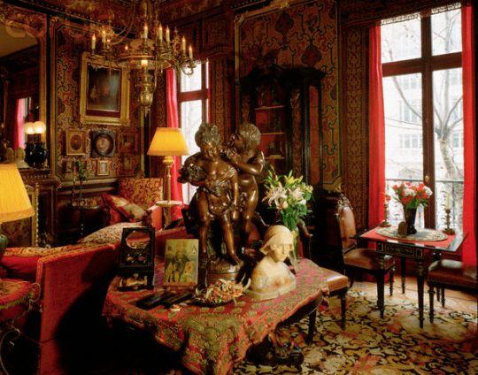 Jacques Garcia room in Paris