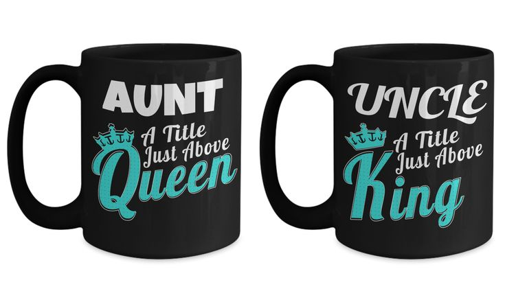 Wedding Gift Aunt - Aunt Gifts Shirts - 15 Oz Homemade Gifts For Aunts - Funny Aunt Coffee Mug - Uncle Retirement Gift - Uncle To Go Mug
