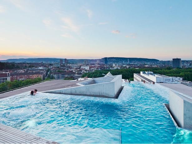 In Zurich, bathing culture has a cultlike following that can be traced back 2,000 years to when the Romans built the first bathhouse on the site of present-day Weinplatz.