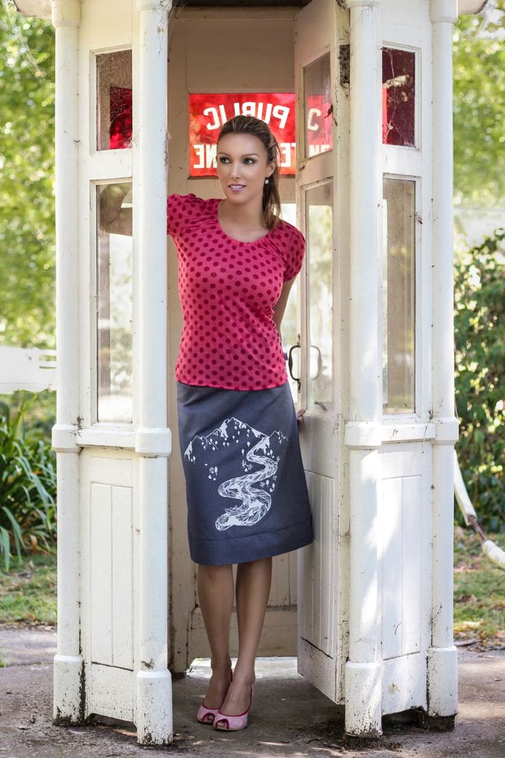 Lolly Top and River Reversible Skirt