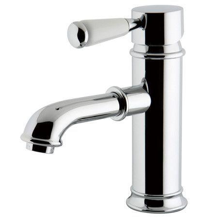 Paris Single Handle Single Hole Lavatory Faucet with Brass Pop-Up Drain