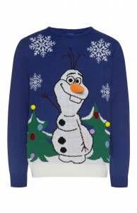 Foute kersttrui Olaf