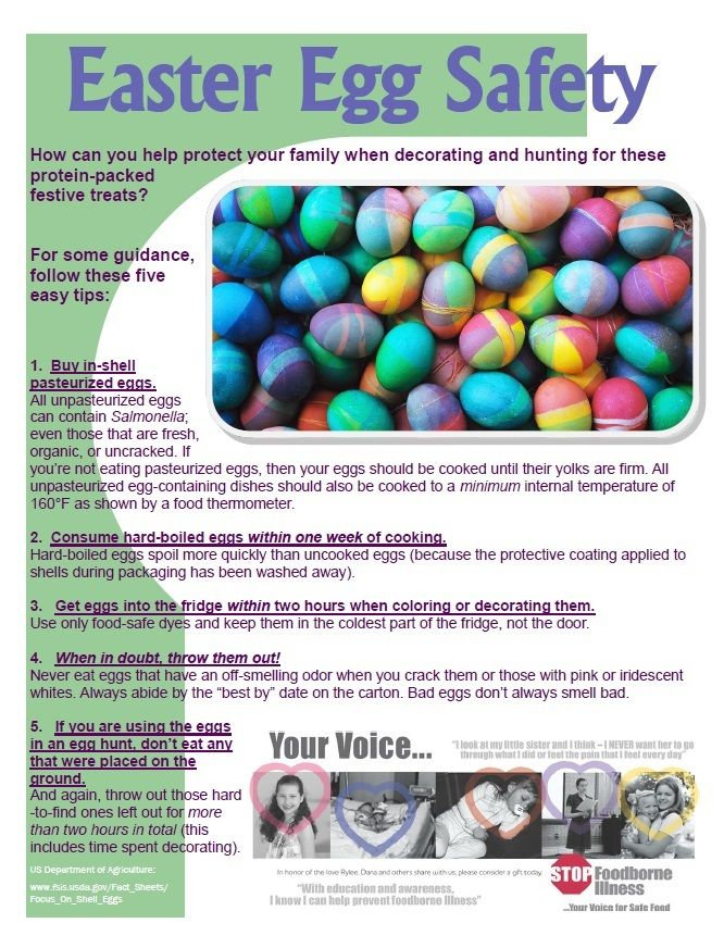 17 best images about food safety fact sheets for Easter egg fun facts