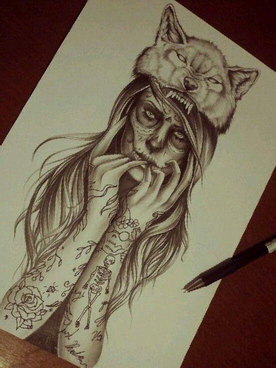Wolf Girl by Eirikiss.deviantart.com on @deviantART
