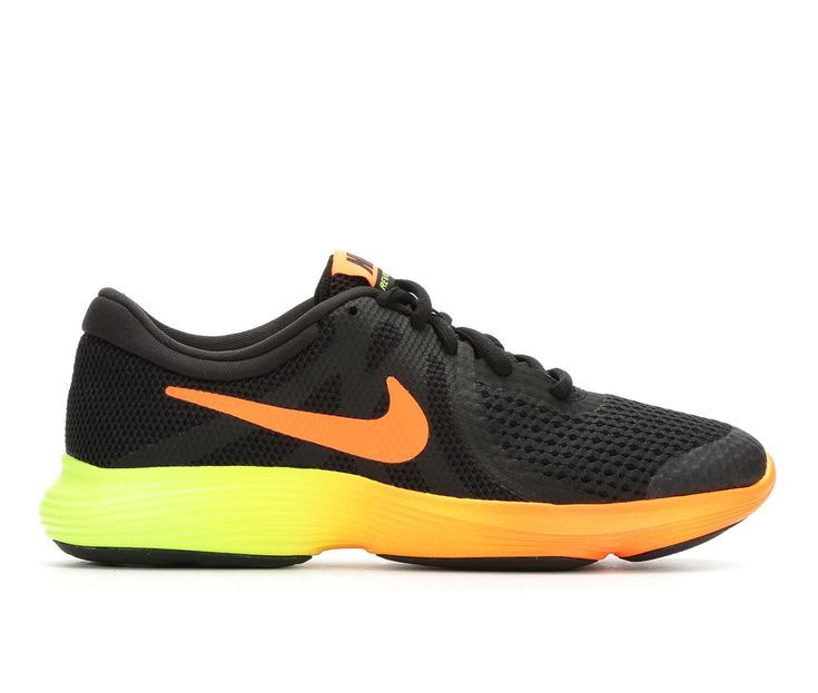 Boys' Nike Revolution 4 Fade 3.5 7 Running Shoes | Leather