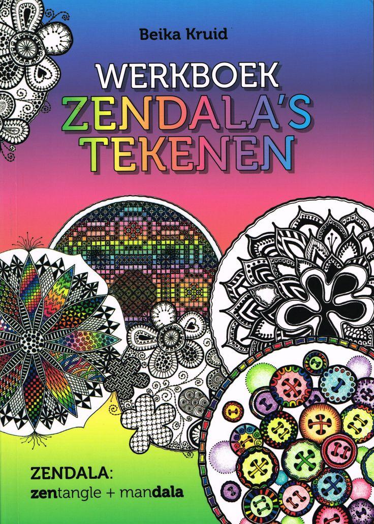 www.uitgeverijakasha.nl Werkboek zendala's tekenen in stap voor stap uitleg.