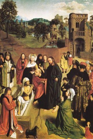 Gerard de St. Jean (Geertgen tot Sun Jans), La Resurrection of Lazare