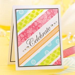 Celebrate from July Cardmaker magazine