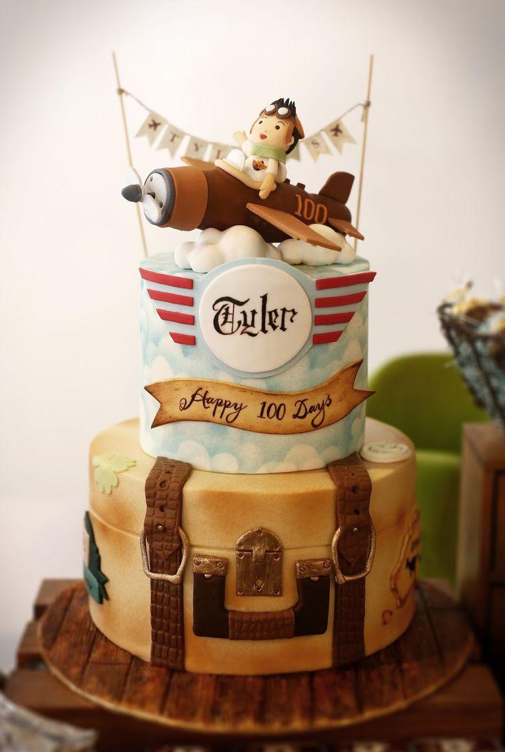 Best 20 Airplane Birthday Cakes Ideas On Pinterest